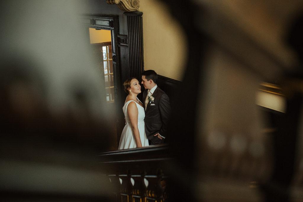 Hochzeitsbilder Leipzig - Hochzeitsfotos in einer alten Villa