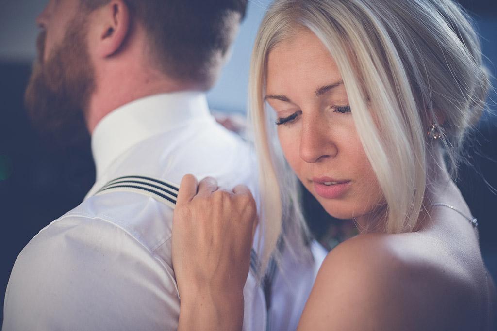 Hochzeitsfotos Idee - Close-Up der Braut