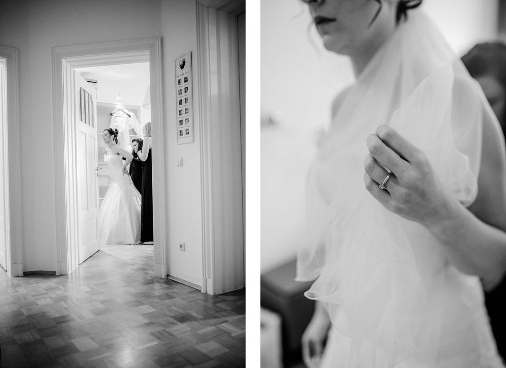 Das Getting Ready mit den Trauzeuginnen | Hochzeitsfotos Leipzig | Ireen Lampe - Hochzeitsfotograf Leipzig | www.ireen-lampe.de